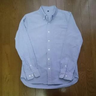 MUJI (無印良品) - 無印良品 オックスフォードボタンダウンシャツ