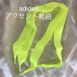 アディダス(adidas)の【新品・未使用】adidas  スニーカー用 アクセント 靴紐  (その他)