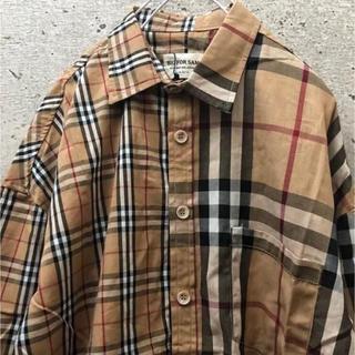 【山p着用モデル】 チェックシャツ オーバーサイズ 韓国系 ストリート