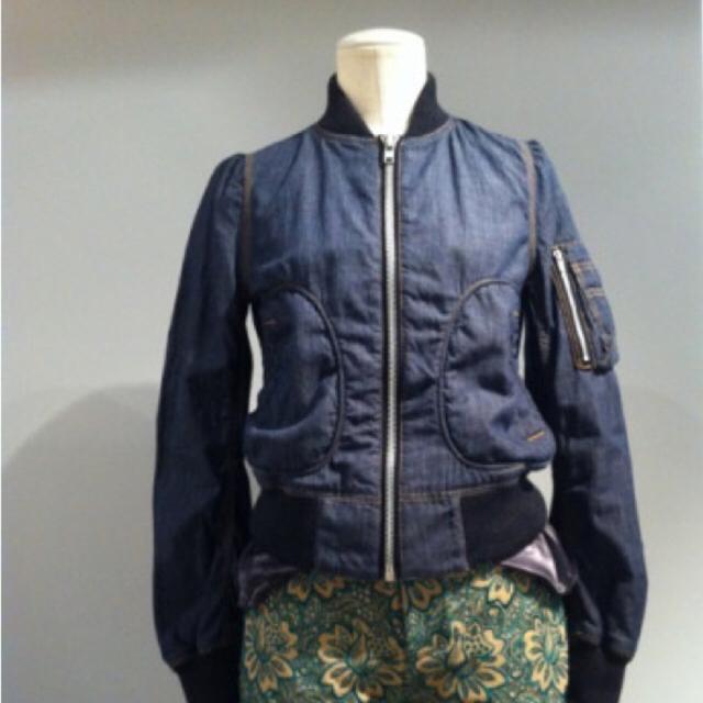 sacai luck(サカイラック)のsacai luck 13ss デニム ブルゾン レディースのジャケット/アウター(ブルゾン)の商品写真