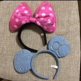 ディズニー(Disney)の🎃ハロウィン《Disney/ディズニー》カチューシャ 2個set(カチューシャ)