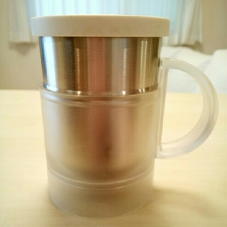 サーモス(THERMOS)のなまけんぼうさん専用☆サーモス 真空断熱オフィスマグ(JCQ-240)(グラス/カップ)