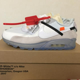 NIKE - NIKE AIR MAX 90 THE 10 OFFWHITE