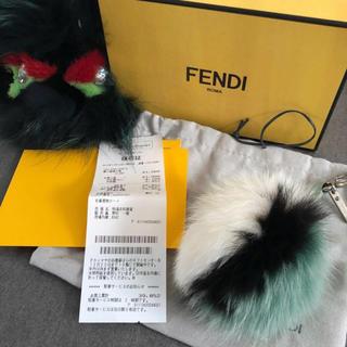 フェンディ(FENDI)のフェンディー 定価41000円 3色ポンポンチャーム モンスターおまけつき(バッグチャーム)