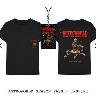Supreme - XLサイズ ASTROWORLD SEASON PASS + T-SHIRT