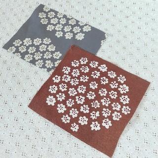 マリメッコ(marimekko)のチョコレートブラウン ♡ プケッティ(生地/糸)