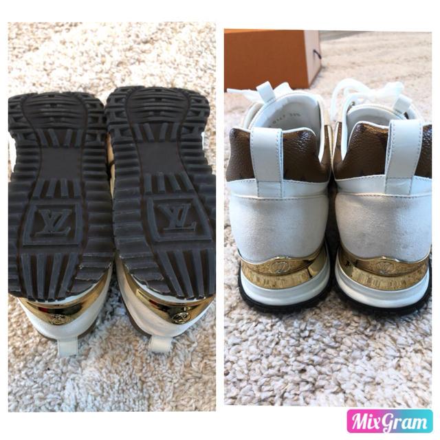 LOUIS VUITTON(ルイヴィトン)の専用出品美品★ルイヴィトン スニーカー モノグラム 正規品 靴 レディース  レディースの靴/シューズ(スニーカー)の商品写真