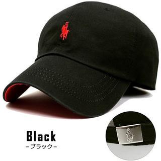 帽子 男女兼用 ローキャップ キャップ ラパ キャップ ブラック CAP(キャップ)