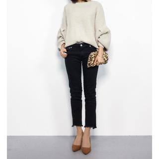 ジーナシス(JEANASIS)の美品 ♡ ジーナシス 7Gミニループショートプルオーバー ニット セーター(ニット/セーター)