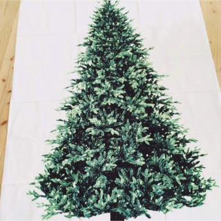 ミナペルホネン(mina perhonen)の新品✨北欧 ノーマル クリスマスツリー タペストリー もみの木✨(その他)