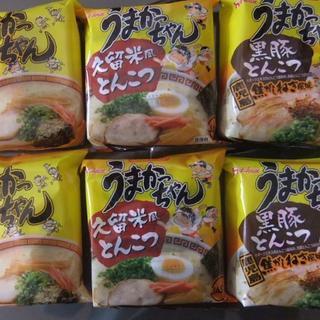 ハウスショクヒン(ハウス食品)の九州の味☆うまかっちゃん☆3種×各2袋 ②(インスタント食品)