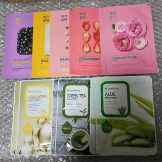 ホリカホリカ(Holika Holika)の韓国 フェイスパック 16袋セット HOLIKA HOLIKA seaNtree(パック / フェイスマスク)