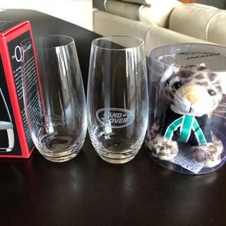 ジャガー(Jaguar)の非売品 ジャガー ぬいぐるみ シャンパングラス リーデル ランドローバー(その他)