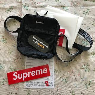 シュプリーム(Supreme)のSupreme 18ss Shoulder bag Black.(ショルダーバッグ)