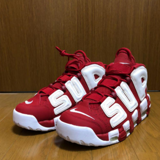 SUPREME NIKE AIR MORE UPTEMPO 27.5cm