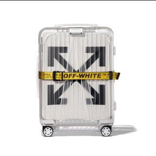 オフホワイト(OFF-WHITE)のOFF-WHITE RIMOWA(トラベルバッグ/スーツケース)