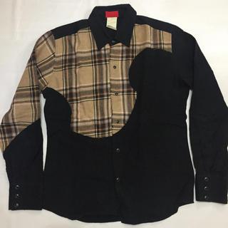 ナンバーヨンジューヨン(n°44)のナンバー44  0044 リメイクシャツ バーバリーチェック(シャツ)