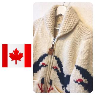 カナタ(KANATA)のカナダ製  CANADIAN SWEATER Co,【カナディアン セーター】(ニット/セーター)