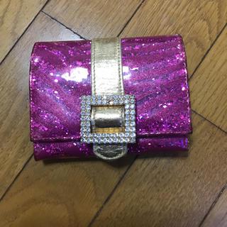 アッシュアンドダイアモンド(ASH&DIAMONDS)のAsh&diamond メタリック 財布 美品(財布)