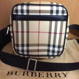 バーバリー(BURBERRY)のBurberry バーバリー チェック ショルダー バッグ 未使用保管品 (ショルダーバッグ)