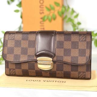 ルイヴィトン(LOUIS VUITTON)の✨美品✨ルイヴィトン ポルトフォイユ システィナ ダミエ 長財布 正規品(財布)