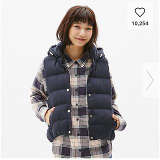 ジーユー(GU)の♡要64love♡様専用(ダウンベスト)