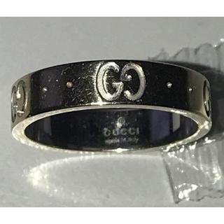 グッチ(Gucci)のGUCCI アイコンリング イエローゴールド 9号 /グッチ 750 K18(リング(指輪))