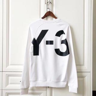 ワイスリー(Y-3)のY-3ロングスリーブ Tシャツ/白い(スウェット)