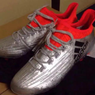 アディダス(adidas)のスパイク 25.5cm(シューズ)