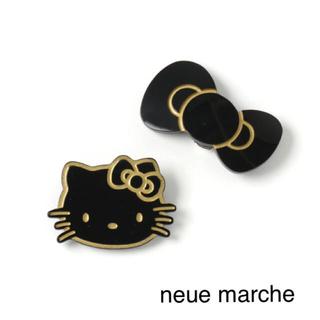 ノイエマルシェ(neue marche)の【新品】ノイエマルシェ ハローキティ シューズクリップ(その他)
