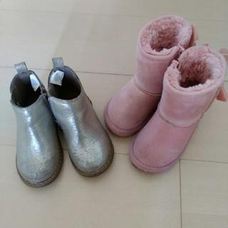 ベビーギャップ(babyGAP)の【13.5cm】BREEZEとbabyGAPブーツ2足セット(ブーツ)