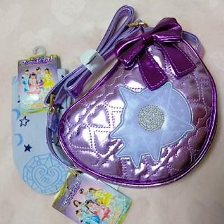 シマムラ(しまむら)のセット売り☆マジマジョピュアーズ シオリ 靴下とバッグ(キャラクターグッズ)