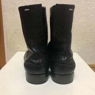 マルタンマルジェラ(Maison Martin Margiela)の希少 マルジェラ 足袋ブーツ ローヒール タビ tabi 36 レア(ブーツ)
