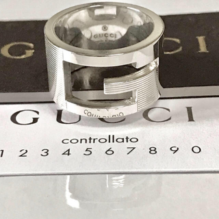 グッチ(Gucci)のGUCCI シルバーリング 14号(リング(指輪))