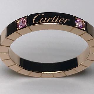 カルティエ(Cartier)の[新品仕上げ済] ラニエール ピンクサファイヤ(リング(指輪))
