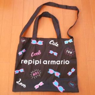 レピピアルマリオ(repipi armario)の新品☆レピピアルマリオのノベルティ眼鏡柄2wayバッグ(トートバッグ)