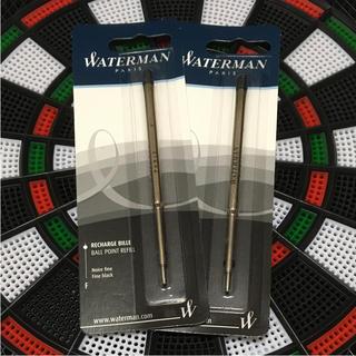 ウォーターマン(Waterman)のウォーターマン ボールペン 油性 替芯 F 細字 ブラック(ペン/マーカー)