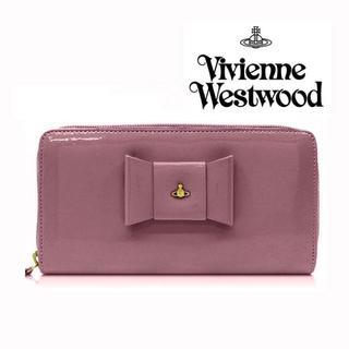 2def5e13d36f ヴィヴィアンウエストウッド(Vivienne Westwood)のVivienne ヴィヴィアンウエストウッド 長財布 ROSA ANTICO