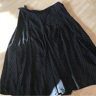ダナキャランニューヨークウィメン(DKNY WOMEN)のDKNY  ドットフレアスカート(ひざ丈スカート)
