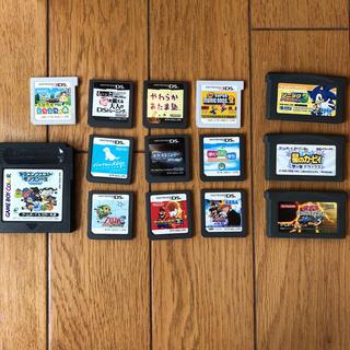 ニンテンドーDS(ニンテンドーDS)のゲームボーイアドバンス、ニンテンドーDS、3DS(携帯用ゲームソフト)