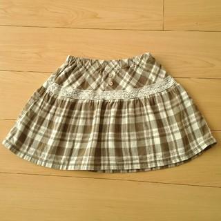 ビケット(Biquette)のBiquette 110cm チェックのスカート(スカート)