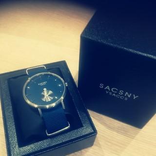 サクスニーイザック(SACSNY Y'SACCS)の新品未使用 サクスニー 腕時計(腕時計)