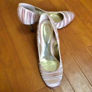 バニティービューティー(vanitybeauty)のパンプス 結婚式 二次会 ピンクゴールド パーティー ドレス(ハイヒール/パンプス)