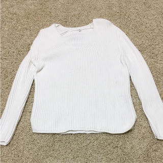 ムジルシリョウヒン(MUJI (無印良品))の無印良品 綿100パーセント ざっくりニット(ニット/セーター)
