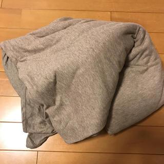 ムジルシリョウヒン(MUJI (無印良品))のご検討中!購入🈲無印良品MUJI☆長方形こたつ布団カバーコタツ シンプル(こたつ)