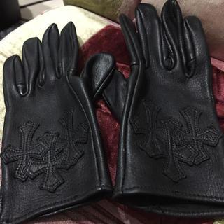 クロムハーツ(Chrome Hearts)のクロムハーツ レザーグローブ(手袋)