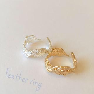 フェザーリング (goldのみ)(リング(指輪))
