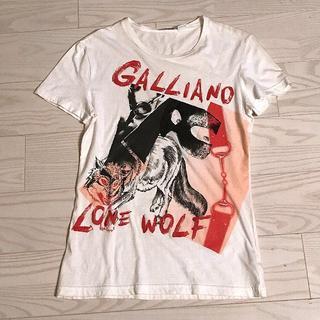 ジョンガリアーノ(John Galliano)のジョンガリアーノのTシャツ カットソー   限定 アレキサンダーマックイーン(Tシャツ/カットソー(半袖/袖なし))