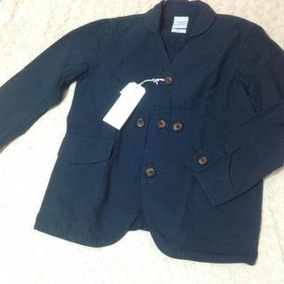 クアドロ(QUADRO)の【quadro】クアドロ メンズ ジャケット アウター 黒 日本製 新品未使用(その他)