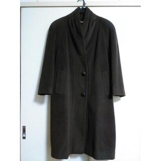 キャラット(Carat)の美品*Carat*カシミア30%糸*ロングデザインコート*(ロングコート)